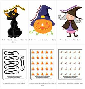 halloween games toprint Printable Halloween Games