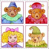 Goldilocks and the Three Bears Craft - Finger Puppets