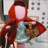 Little Red Riding Hood Finger Puppet