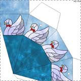 swan paper cone ornament Fairy Tale Crafts for Kids
