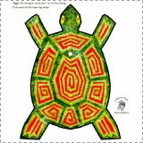 Racing Tortoise Paper Model Craft