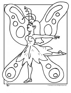 Printable Fairy Tale Coloring Pages for Kids