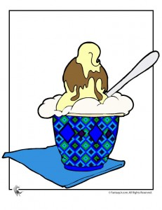 ice cream sundae boy 231x300 Ice Cream Party Games