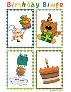 birthday bingo 2 231x300 Printable Birthday Bingo Cards