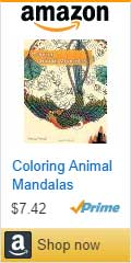 Buy Coloring Animal Mandalas by Wendy Piersall on Amazon