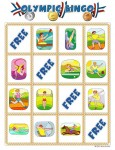 summer olympic bingo card 0 115x150 Printable Summer Olympics Bingo Game