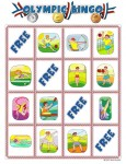 summer olympic bingo card 3 115x150 Printable Summer Olympics Bingo Game