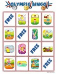 summer olympic bingo card 4 115x150 Printable Summer Olympics Bingo Game