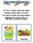 summer olympic bingo game 115x150 Printable Summer Olympics Bingo Game