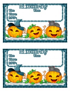 printable halloween invitat 231x300 Free Printable Halloween Party Invitations for Kids & Teens