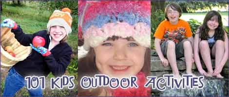 kids outdoor activities la 101+ Kids Outdoor Activities, Crafts, Games, and Ideas for Winter, Spring, Summer & Fall